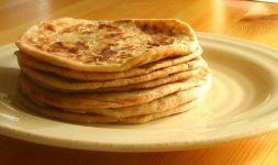 Изображение рецепта Сырная лепешка на сковороде