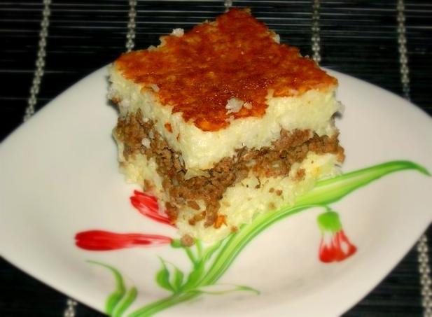 Рисовая запеканка с фаршем рецепт с фото