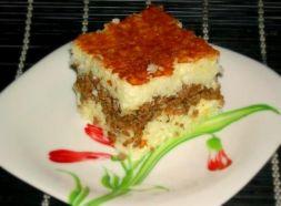 Изображение рецепта Рисовая запеканка с фаршем