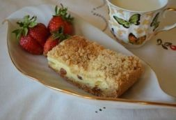 Изображение рецепта Песочный пирог с творогом