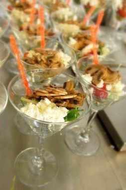 Изображение рецепта Карпаччо из грибов с земляникой