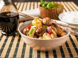 Изображение рецепта Фрикадельки с ананасами