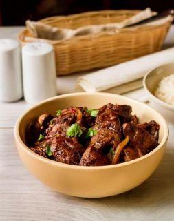 Изображение рецепта Куриная печень по-китайски