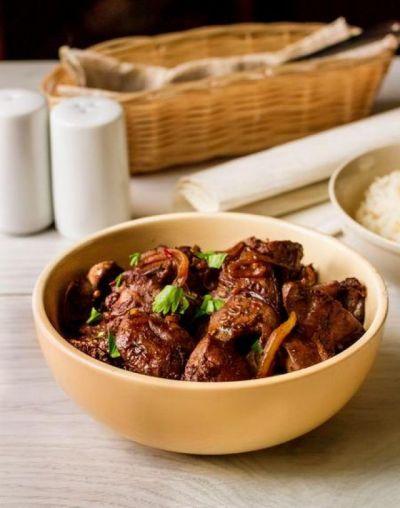 Изображение рецепта ''Куриная печень по-китайски''