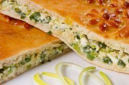 Изображение рецепта Быстрый пирог с яйцами и луком