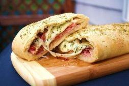 Изображение рецепта Стромболи - пицца-рулет