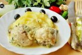 Гедлибже - курица в луковом соусе