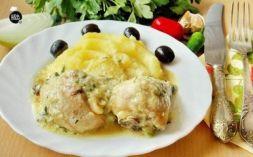 Изображение рецепта Гедлибже - курица в луковом соусе