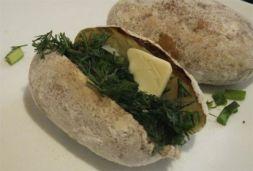 Изображение рецепта Печеный картофель - как на костре!