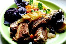 Изображение рецепта Свиные ребрышки с овощами