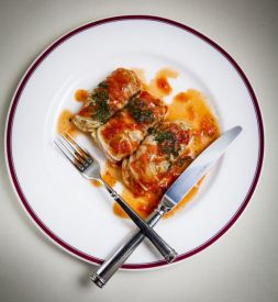 Изображение рецепта Голубцы с диким рисом и овощами