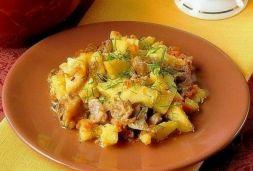 Изображение рецепта Картошка с грибами в рукаве