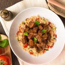 Изображение рецепта Тушеная говядина по-восточному