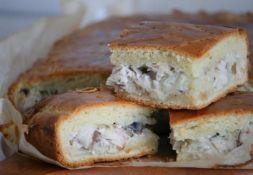 Изображение рецепта Пирог со скумбрией