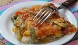 Изображение рецепта Куриные стейки с овощами