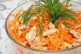 Хе из курицы с морковью