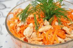 Изображение рецепта Хе из курицы с морковью