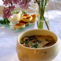 Изображение рецепта Грибной суп с телятиной
