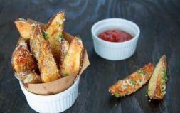 Изображение рецепта Запеченные картофельные дольки