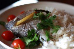 Изображение рецепта Дорада с лаймом и петрушкой