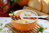 Куриный суп с овощами и фасолью в мультиварке