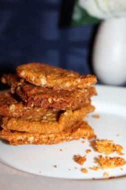 Изображение рецепта Овсяное печенье с кокосовой стружкой