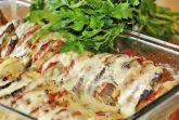 Летняя запеканка с овощами и сыром