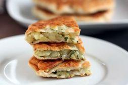 Изображение рецепта Плацинды с картофелем и зеленью
