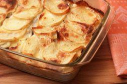 Изображение рецепта Картофельная запеканка с квашеной капустой