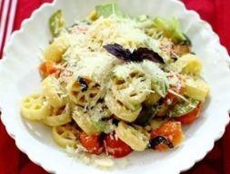 Изображение рецепта Паста с кабачками и помидорами