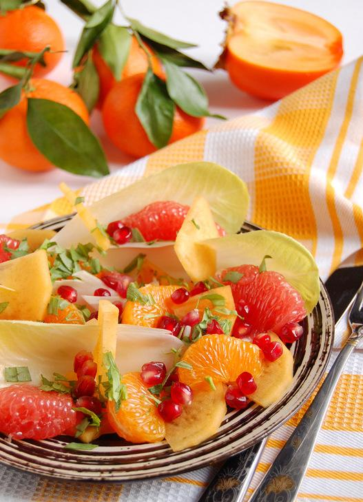 Фруктовые салаты зимой рецепты