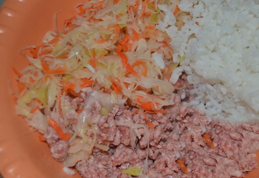 Рис капуста мясо рецепт с фото