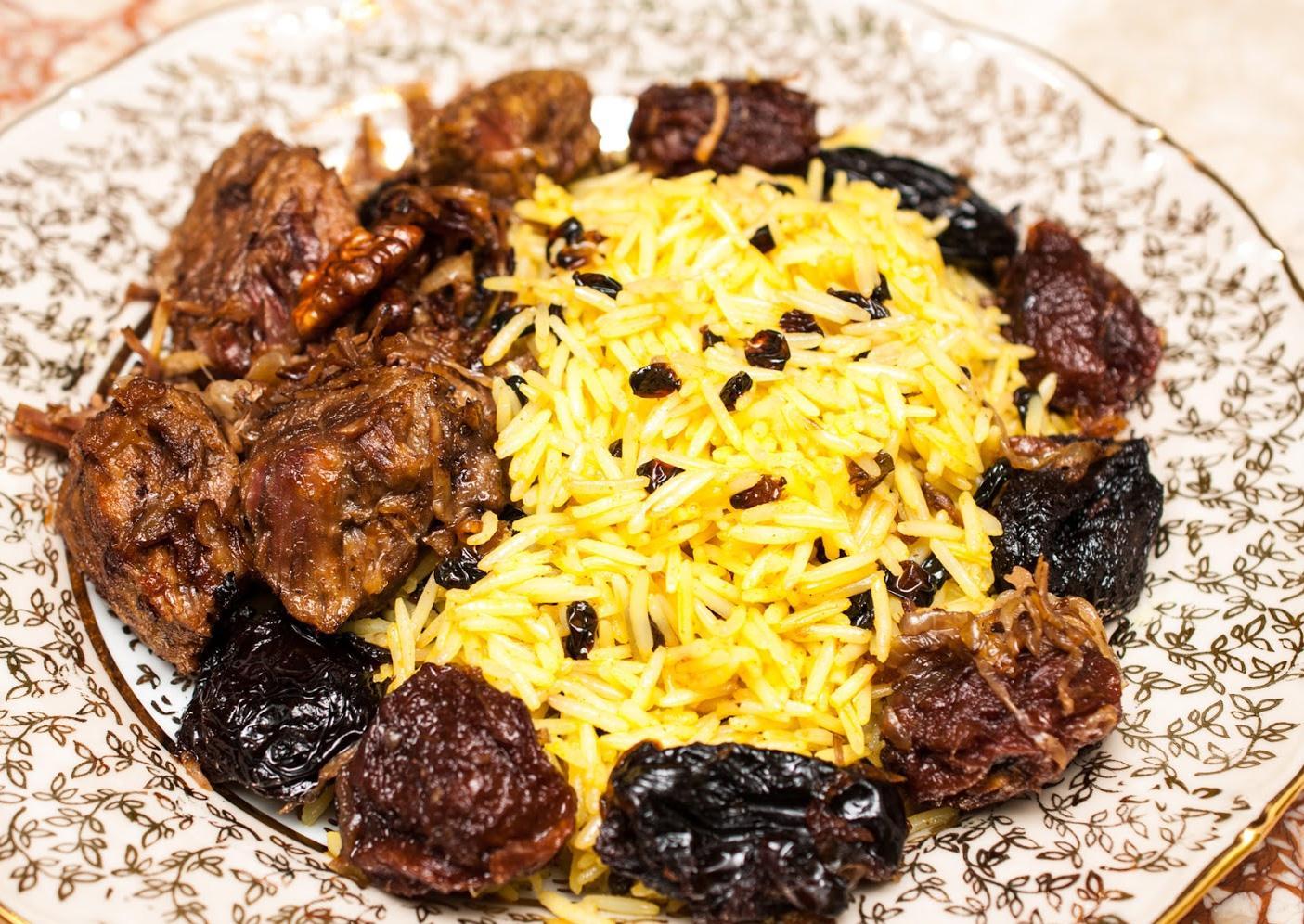 Азербайджанский плов с говядиной рецепт с фото пошагово