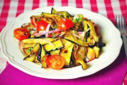 Изображение рецепта Салат с жареными баклажанами