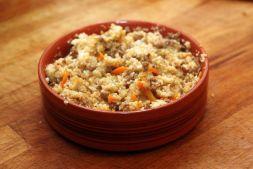 Изображение рецепта Пшеничная каша с ветчиной