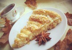 Изображение рецепта Слоеный пирог с сыром