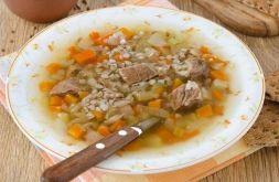 Изображение рецепта Суп гречневый на говяжьих ребрах