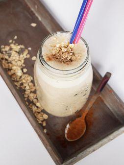 Изображение рецепта Овсяный напиток с шоколадом
