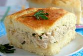 Пирог с мясом и картофелем