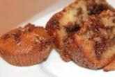 Сметанный кекс с шоколадно-ореховой начинкой