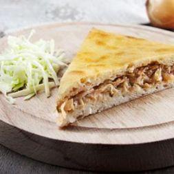 Изображение рецепта Пирог с капустой и курицей