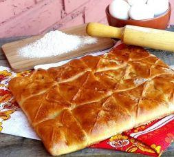 Изображение рецепта Бюджетный пирог с курицей