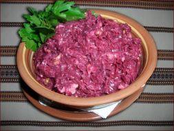 Изображение рецепта Салат из вареной свеклы с майонезом