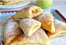 Изображение рецепта Булочки с яблоками