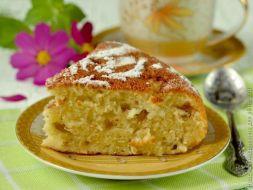 Изображение рецепта Манник с лимоном и яблоком