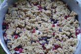 Овсяная каша с ягодами (мой рецепт)
