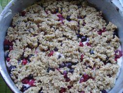Изображение рецепта Овсяная каша с ягодами (мой рецепт)