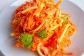 Салат морковь с сыром
