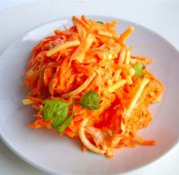 Изображение рецепта Салат морковь с сыром