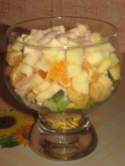 Изображение рецепта Митхи Дахи - густой сладкий йогурт с фруктами